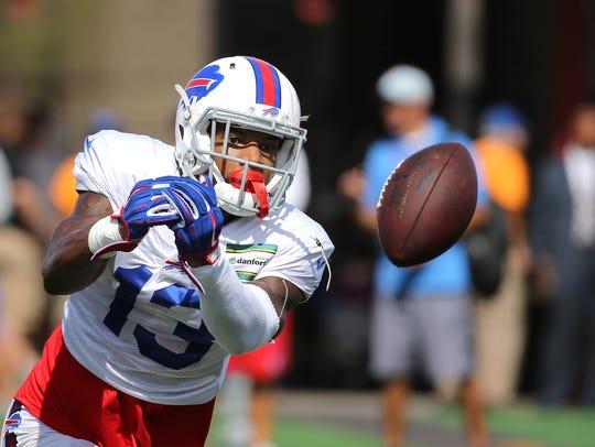 Dezmin Lewis has been elevated from the Bills practice