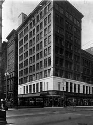 The first Kresge store, opened in 1899 on Woodward