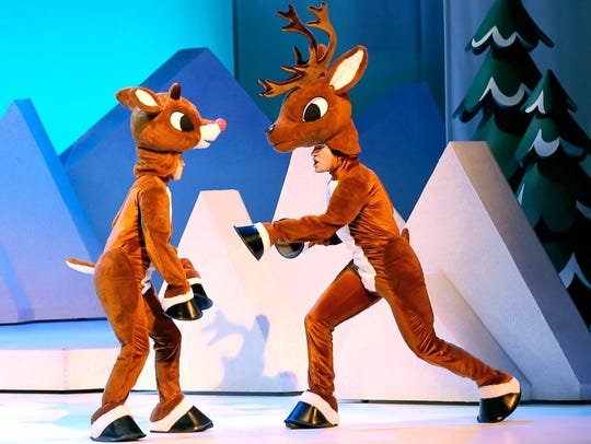 Rudolph gets some growing up advice in this scene from