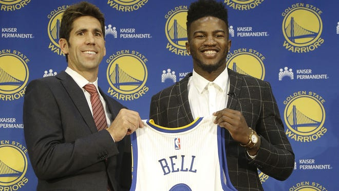 No. 38 pick Jordan Bell thinks he's in a better position with the Warriors than top pick Markelle Fultz is with the 76ers.