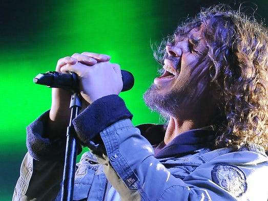 Chris Cornell, seen performing with Soundgarden in