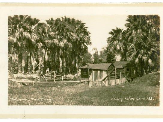 Original bathhouse, built in late 1880s.
