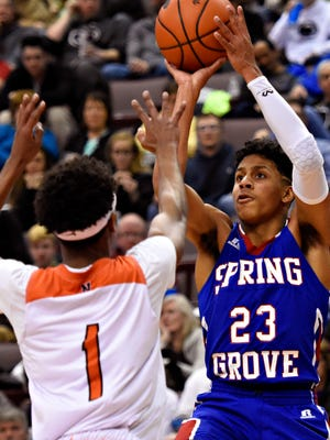 Spring Grove's Eli Brooks was a first-team all-state selection on the Class 5-A level.
