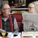 """Jim Broadbent and Lindsay Duncan visit Paris on their second honeymoon in """"Le Weekend."""""""