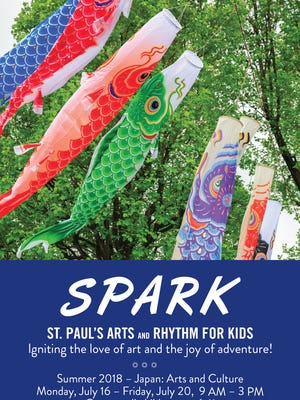 St. Paul's Episcopal Church's SPARK Camp 2018 will give campers the opportunity to experience Japanese culture right here in Oregon.