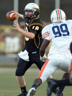 Oak Grove quarterback Alex Ward and his teammates have moved into the Top 5 of the Super 10.
