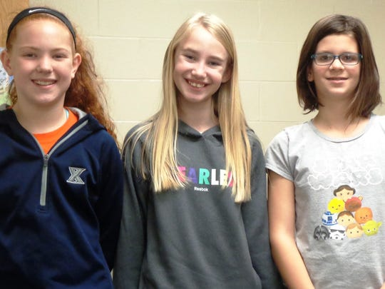Loveland Intermediate School fifth-grade girls Reagan