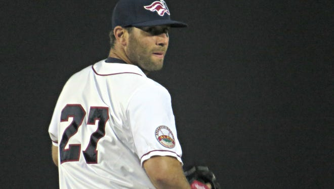 Southpaw Jeremy Bleich turned in a perfect sixth inning on Sunday in his first game for the Somerset Patriots.