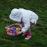 Children 10 and under are invited to take part in the annual Fishkill Farms egg hunt April 4.