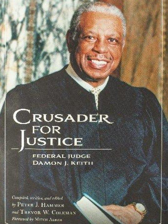 Judge Damon Keith book cover