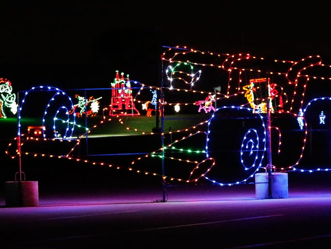 lights at the brickyard preview