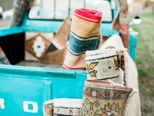 The main stage at the Nashville Home Show is hosted by Nashville-based Apple & Oak, an eclectic home goods store in East Nashville, specializing in vintage rugs. Their mobile rug truck, named Loretta Lou will be making an appearance at the show.