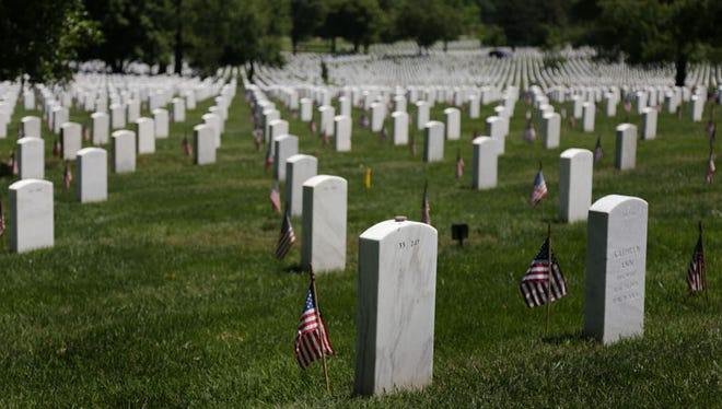Arlington National Cemetery is pictured in 2015. Army Pfc. John Shelemba, of Hamtramck, will be buried at the cemetery after scientists recently identified his remains from the Korean War.