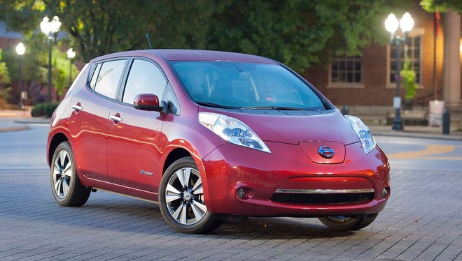 """Nissan LEAF makes it """"easy to be green,"""" offering the space and range to meet everyday needs, while also providing an exceptional value proposition due to zero spending on gas, lower operating and maintenance costs and a starting price after tax incentives competitive with a comparable gas-powered car."""