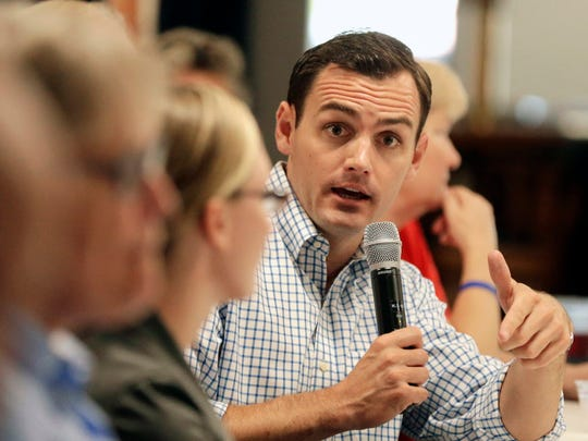 U.S. Rep. Mike Gallagher, a Republican, represents Wisconsin's 8th Congressional District.