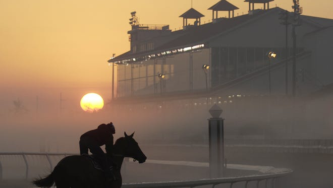 Fair Grounds Race Course in New Orleans