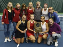 Pulaski girls tennis makes history
