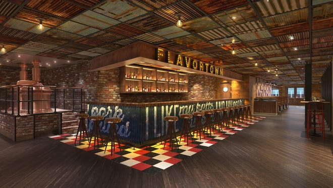 Carnival Cruise Line's next ship, Carnival Horizon, will have a Guy Fieri barbecue eatery with a working brewery.