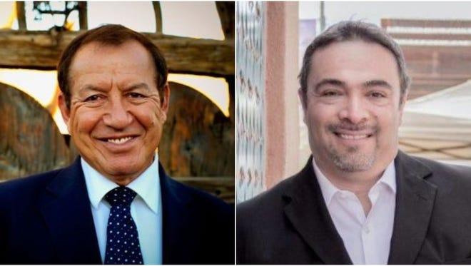 """Bealquin """"Bill"""" Gomez and Ray Lara"""