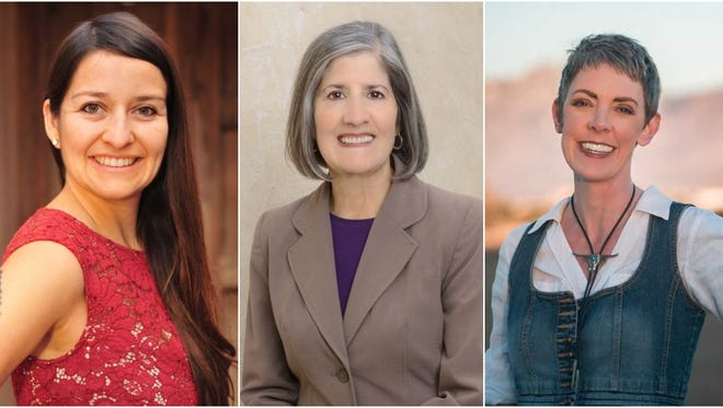 Micaela Lara Cadena, Mary Martinez White and Guenevere Ruth McMahon