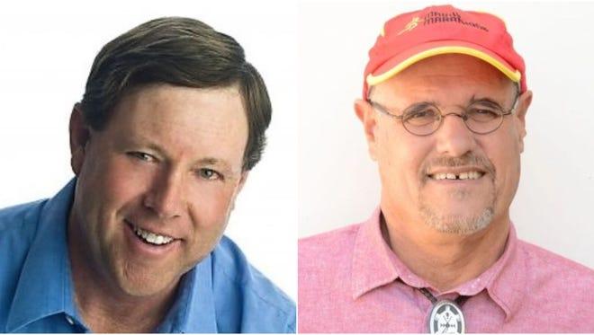 Sandy Jones and Steve Fischmann