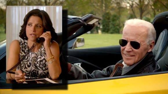 For a comedic video shown at last weekend's White House Correspondents Dinner, Vice President Joe Biden was joined by not only actress Julia Louis-Dreyfus, but House Speaker John Boehner.