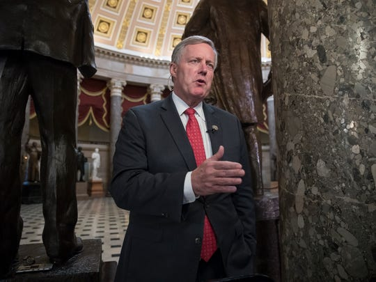 Eleventh District U.S. Rep. Mark Meadows, R-Buncombe,
