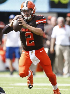 Johnny Manziel had a fast start, but cooled off.