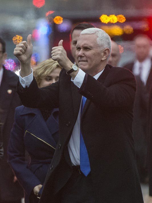 IndyStar stock Pence stock mike pence _20170120.jpg