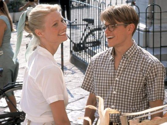 Gwyneth Paltrow and Matt Damon starred together in