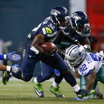 Seahawks running back Christine Michael ran for 58 yards on seven carries against the Cowboys on Thursday night.