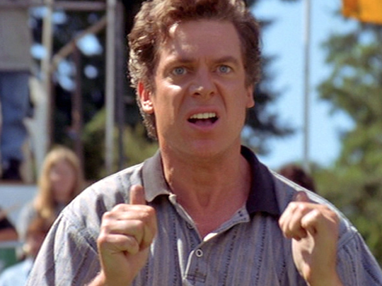"Christopher McDonald played the smug pro golfer Shooter McGavin in the 1996 movie ""Happy Gilmore"""