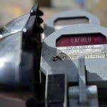 Downtown Great Falls parking meters.
