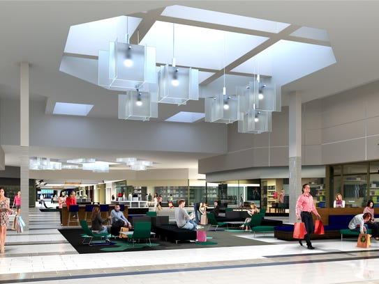 An artist's rendering of the proposed interior of the