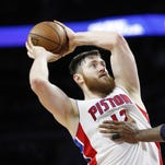 C Aron Baynes: B. Delivered in becoming a reliable backup option to Drummond. Struggled early with injuries, but ultimately saved the Pistons because he was reliable when opponents resorted to intentionally fouling Drummond, a poor free-throw shooter. Signed through 2017-18. Will make $6.5M next season.