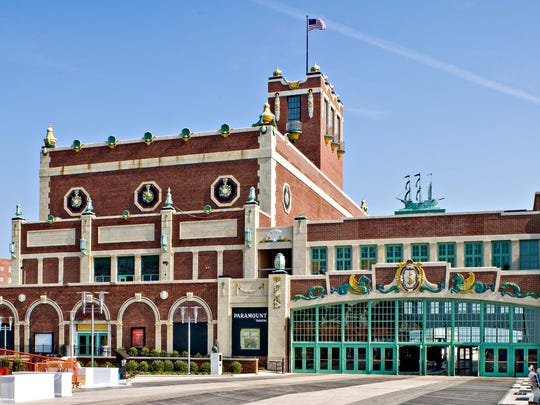 The Asbury Park Convention Hall.