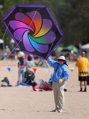 Kites Over Lake Michigan features giant show kites,