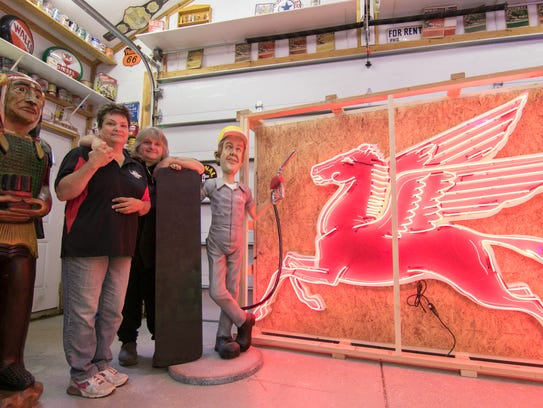 Dawn and Terry Hubert run Big Cheese Productions, restoring