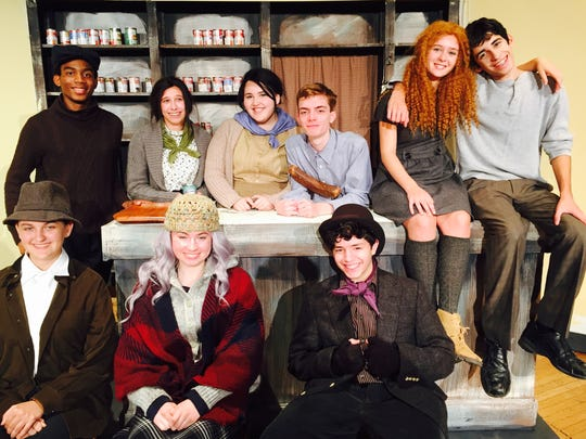 "The cast of UCPAC's ""The Cripple of Inishmaan"" Top"