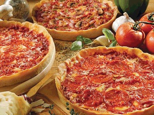 Lou Malnati's Pizzeria serves classic Chicago deep-dish