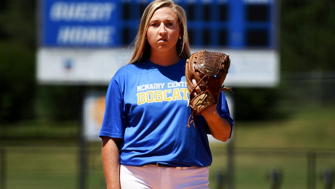 All-West Tennessee Softball Player of the Year McNairy Central's Katie Turner