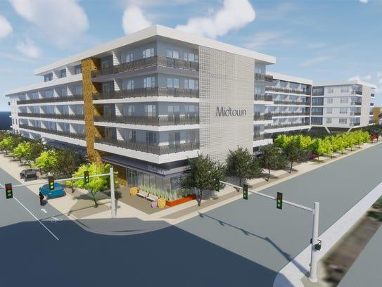 Crescent Communities is planning a 329-unit apartment