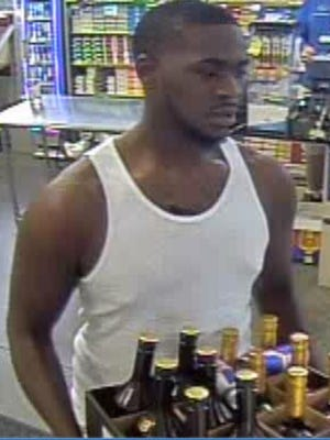 Authorities say this man, along with a woman, passed counterfeit money to buy alcohol and other items at Sam's Club in North Naples.