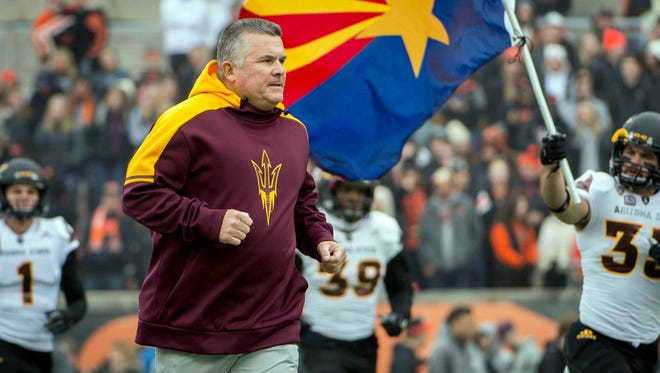 Arizona State Sun Devils head coach Todd Graham has a huge game on Saturday.