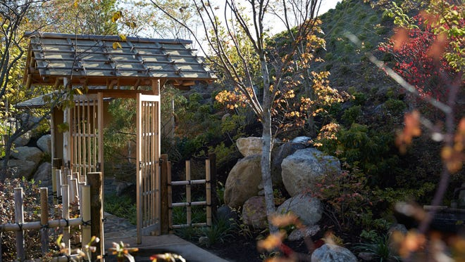 Meijer Gardens in Grand Rapids opens its newest feature, an eight-acre Japanese Garden, on Saturday.