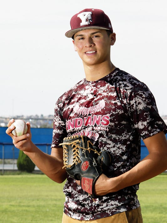 Rudy Gutierrez—El Paso Times Ysleta pitcher Justin Maese is the All City Baseball Player of the Year.