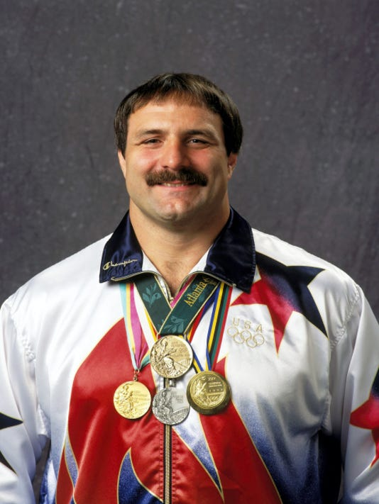 Bruce Baumgartner, now the athletic director at Edinboro University, earned two gold medals, one silver and one bronze in Olympic wrestling.