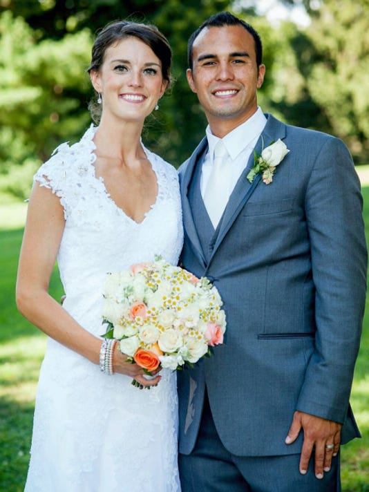 Tara Jo Neiheiser and Andrew Kyle Maya were married August 1, in St. Catharine of Siena Roman Catholic Church, Exeter Township. Submitted