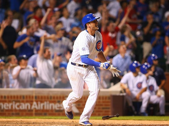 Cubs rookie Kris Bryant hit 26 home runs and had 99