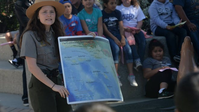 Saturday is Kids to Parks Day at the Channel Islands National Park.